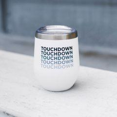 Hometown Touchdown Stemless Wine Glass