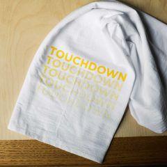 Hometown Ombre Touchdown Tea Towel
