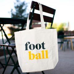 Hometown Football Tote Bag