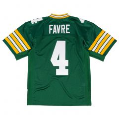 #4 Favre 1996 Home Throwback Authentic Jersey