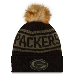 Packers 2021 Salute to Service Women's Pom Hat