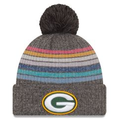 Packers 2021 Crucial Catch Women's Pom Knit Hat