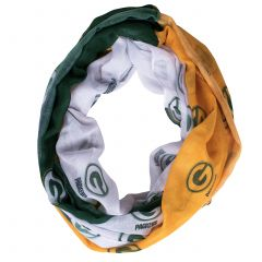 Packers Women's Color-Blocked Infinity Scarf