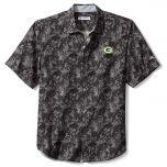 Packers Big & Tall Jungle Shade Silk Camp Shirt