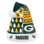 Packers Ugly Santa Hat