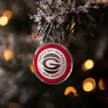 Packers Silver Coin Ornament