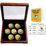Packers 4-Time Super Bowl Champs Coin Set