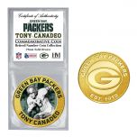 Packers #3 Canadeo Retired Number Bronze Coin