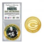 Packers #66 Nitschke Retired Number Bronze Coin