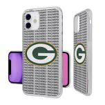 Packers Blackletter Clear iPhone 11 Case