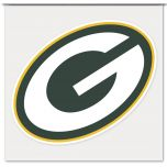 """Packers G Logo 4"""" Color Decal"""