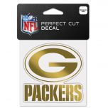 Packers Chrome Gold Decal