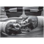 Packers Taped Hands Greeting Card