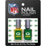 Green Bay Packers 2-Pack Nail Polish