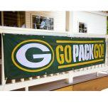 Green Bay Packers Go Pack Go Banner