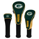 Packers Set of 3 Golf Club Headcovers