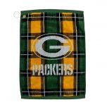 Green Bay Packers Plaid Golf Towel