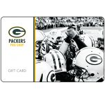 Packers Pro Shop Gift Card - B&W Huddle