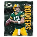 Packers Aaron Rodgers Silk Touch Throw Blanket