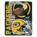 Packers Youth Accelerator Plush Throw Blanket