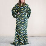 Packers Adult Plush Comfy Throw Blanket