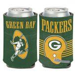 Packers Retro Helmet Logo Can Cooler