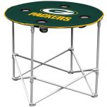 Green Bay Packers Round Travel Table
