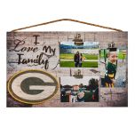 Green Bay Packers I Love My Family Clip Frame