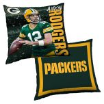 Packers #12 Aaron Rodgers Player Pillow