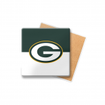 Packers Color-Blocked Coaster