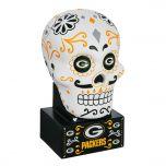 Packers Sugar Skull Statue