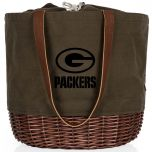 Packers Coronado Canvas & Willow Basket Tote
