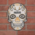 Packers Skull Outdoor Graphic - Large