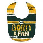 Packers Born A Fan Bib