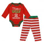 Packers Infant Too Cute Bodysuit & Pant Set