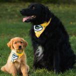 Packers Reversible Pet Bandana