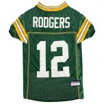 Packers #12 Rodgers Pet Mesh Jersey