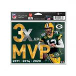 Packers Aaron Rodgers MVP 2020 Multi-Use Decal