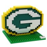 Packers 3D Brxlz G Logo Construction Toy