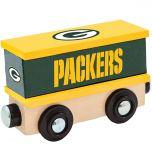 Green Bay Packers Wooden Box Car