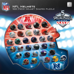 Packers NFL Logos 500 Piece Helmet Puzzle