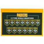 Packers 13-Time World Champion Banner