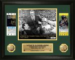 Lombardi Super Bowl Ticket Gold Coin Photomint