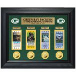 Packers Deluxe Coin & Ticket Collection