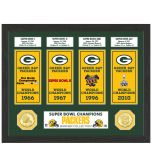 Packers Super Bowl Banner Collection Photomint