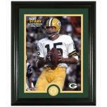 Packers Starr Legends Bronze Coin Photomint