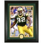 Packers White Legends Bronze Coin Photomint