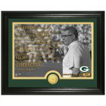 """Packers Lombardi """"Character"""" Bronze Coin Photomint"""