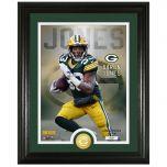 Packers #33 Jones Bronze Coin Photomint
