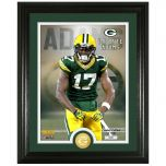 Packers #17 Adams Bronze Coin Photomint